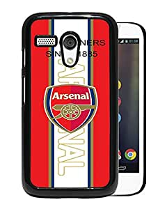 Arsenal 1 Black Motorola Moto G Screen Phone Case Unique and Grace Design