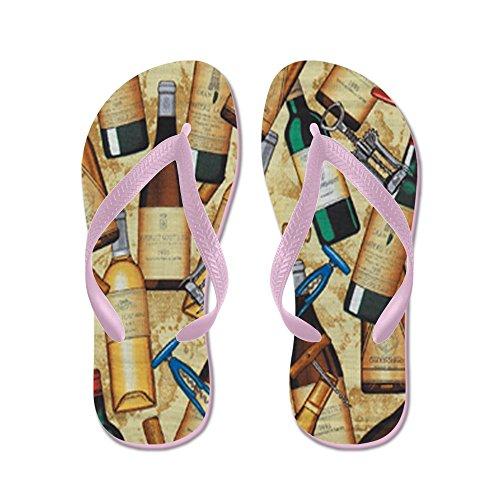 6710fe799 CafePress - Wine - Flip Flops