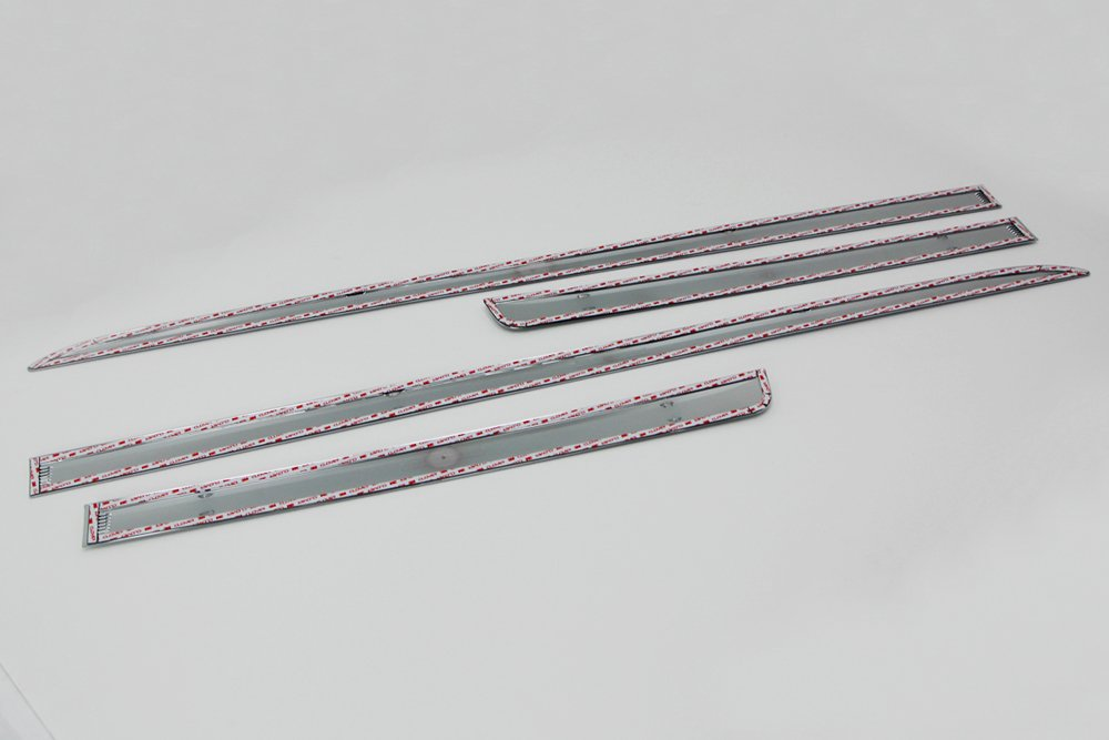 T/ürleisten CR-V 2012-2016 f/ür Seitent/üren verchromt Chromleisten 4 Teile