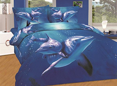 Awesome Dolphin Duvet Cover Set
