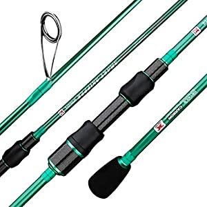 BERRYPRO Ultralight Spinning Fishing Rod, Travel...