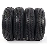 4PC Load Radial Trailer Tires ST205/75R14 6PR Load Range C