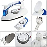 GaxQuly Travel Folding Handel Portable Powerful Mini Electrical Steam Iron Press,Multicolor