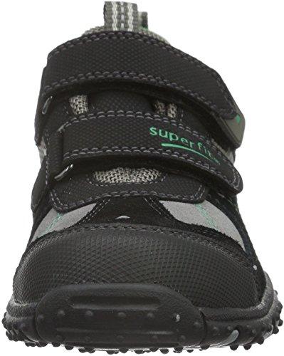 Superfit Sport4 - Zapatillas Niños Negro - Schwarz (Schwarz Multi 03)