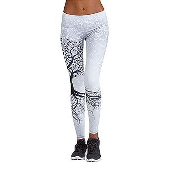 Pantalones Yoga Mujeres, Hanyixue Leggings Yoga Deportivos ...