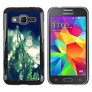 EJOY---Cubierta de la caja de protección la piel dura para el / Samsung Galaxy Core Prime / --Hierba Bokeh