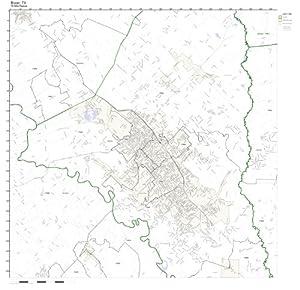Bryan Texas Zip Code Map