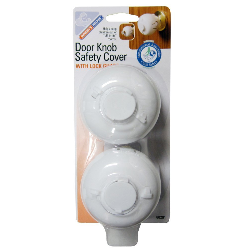 Amazon.com : Mommy's Helper Door Knob Safety Cover : Indoor Safety ...