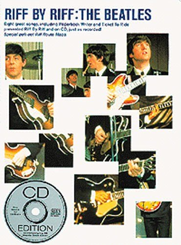Riff By Riff: The Beatles. Partituras, CD para Acorde de Guitarra ...