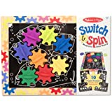 Melissa & Doug Switch and Spin Magnetic Gear Board