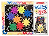 Melissa and Doug Switch and Spin Magnetic Gear Board