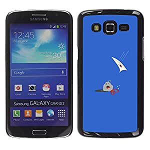 Ihec Tech Rock Paper Scissors - Funny / Funda Case back Cover guard / for Samsung Galaxy Grand 2