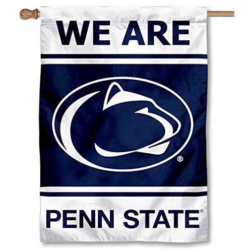 Penn State Nittany Lions Two Sided and Double Sided House Flag