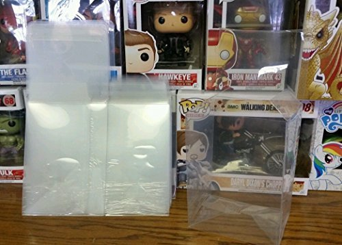 "FUNKO 4"" POP PROTECTOR ACID FREE CRYSTAL CLEAR CASE 6-PACK"