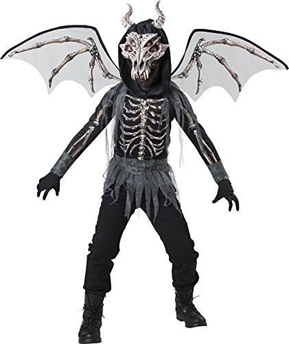 InCharacter Skeleton Dragon Boys Costume
