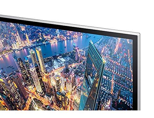 Samsung U28E590D Monitor 4K Ultra HD, 28″, Basic, UHD, 3840 x 2160, 60 Hz, 1 ms, 2 HDMI, Display Port, Nero
