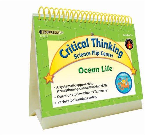 EDUPRESS SCIENCE CRITICAL THINKING FLIP CENTER OCEAN LIFE ()