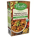 Pacific Foods Organic Reduced Sodium Vegetable Soup, 17oz