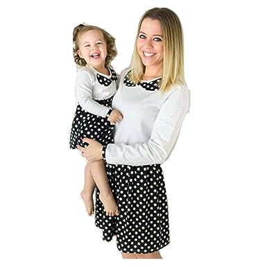 Vestiti Eleganti Mamma E Figlia.Day8 Abiti Mamma E Figlia Abbigliamento Vestiti Mamma E