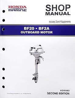 amazon com honda bf40 bf50 d model marine outboard service repair rh amazon com 2014 Honda Outboard Motors 1999 Honda 40 HP Outboard