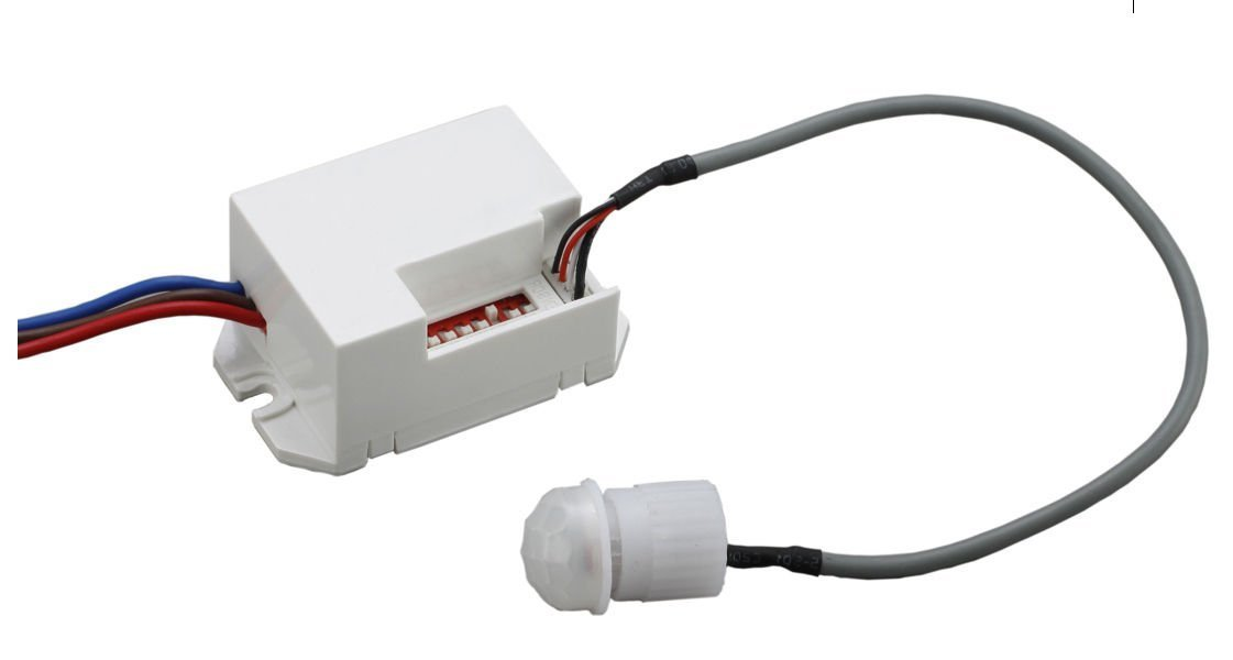Mini rilevatore di movimento PIR 360/gradi sensore interruttore da incasso universale Mount