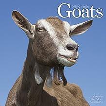 Goats Calendar - 2016 Wall calendars - Animal Calendar - Monthly Wall Calendar by Avonside