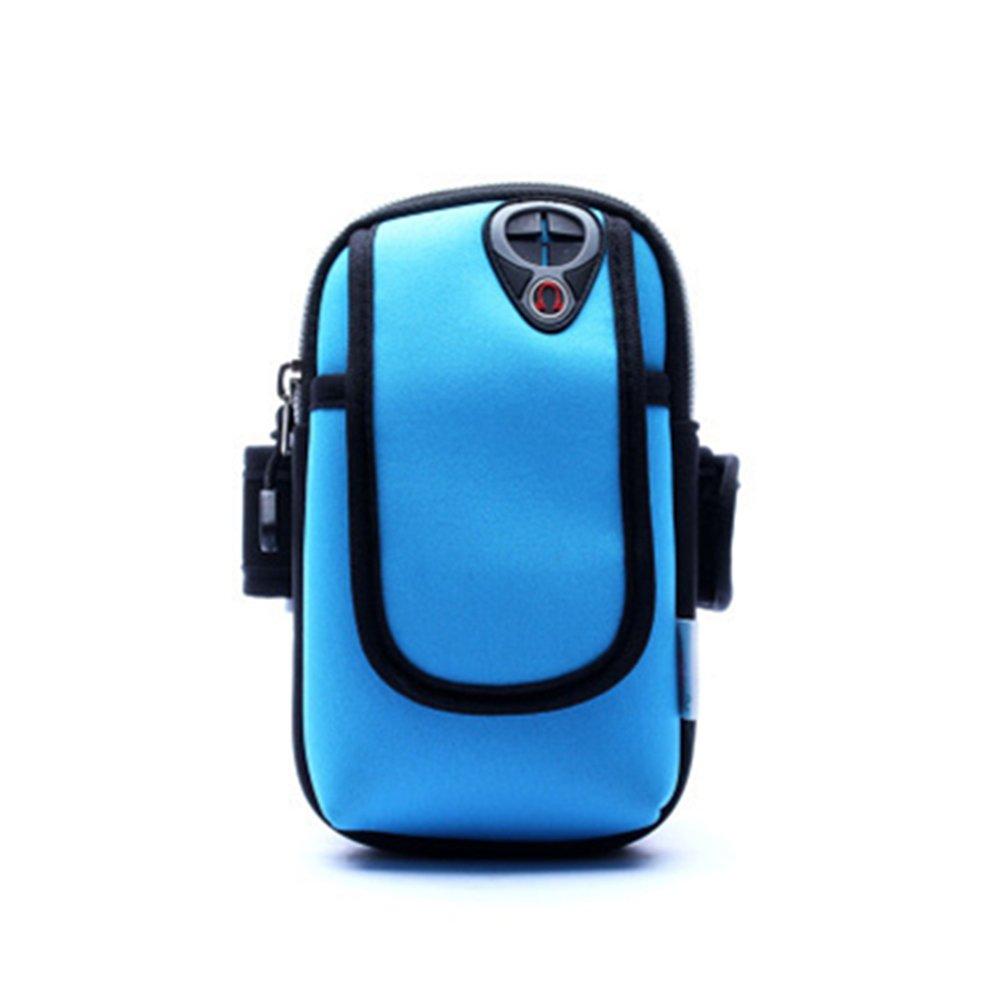 Tinkskyユニセックスサイクリングスポーツランニングモバイル携帯電話手首バッグアームパッケージスカイブルー B01J7WU0KQ