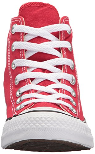 Adulto Taylor Red Unisex Rojo All Core Star Converse Altas Zapatillas Hi Chuck PFw5z5fqx