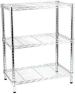 Amazon.com: Honey-Can-Do SHF-01903 Adjustable Storage Shelving, 250