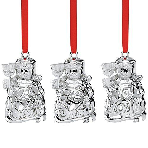 Lenox Snowmen, Set of 3 Ornaments ()