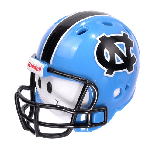 NCAA College Football NC North Carolina Carolina Tarheels Car Antenna Topper & Yellow Smiley Antenna Topper Tenna Tops®