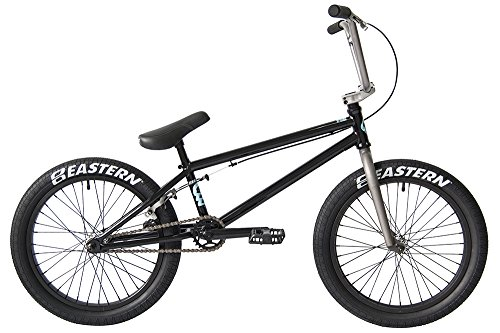 Eastern Bikes Traildigger BMX Bicycle, Gloss Black, 20″/One Size Top Deals