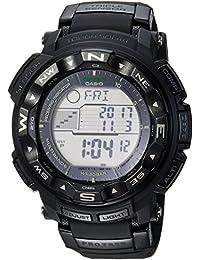 Men's 'PRO TREK' Quartz Resin Sport Watch, Color:Black (Model: PRW2500-1A)