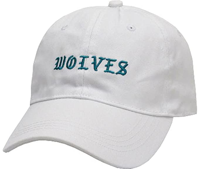 FGSS Mens Wolves Embroidery Adjustable Strapback Dad Hat Baseball Cap at Amazon  Men s Clothing store  344a1a1bef3a