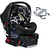 Britax B-Safe Ultra Infant Car Seat with Back Seat Mirror - Cowmooflage