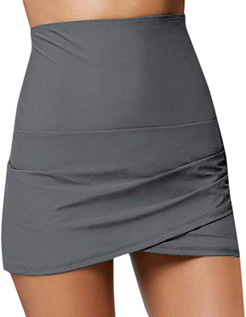 Overdose Falda Uniforme Falda Talla Grande Falda Short Mujer Falda ...