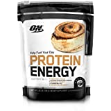 OPTIMUM NUTRITION On Protein Energy Powder, Cinnamon Bun, 1.6 Pound