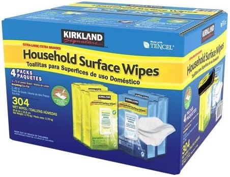 Kirkland Signature M/énage Surface Extra Large D/ésinfecter Lingettes