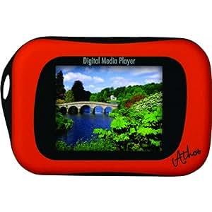 "i-Joy Athos - Reproductor MP3 (Flash-media, 4 GB, TFT, 45.7 mm (1.8 ""), MP3, WMA, AMV) Rojo"