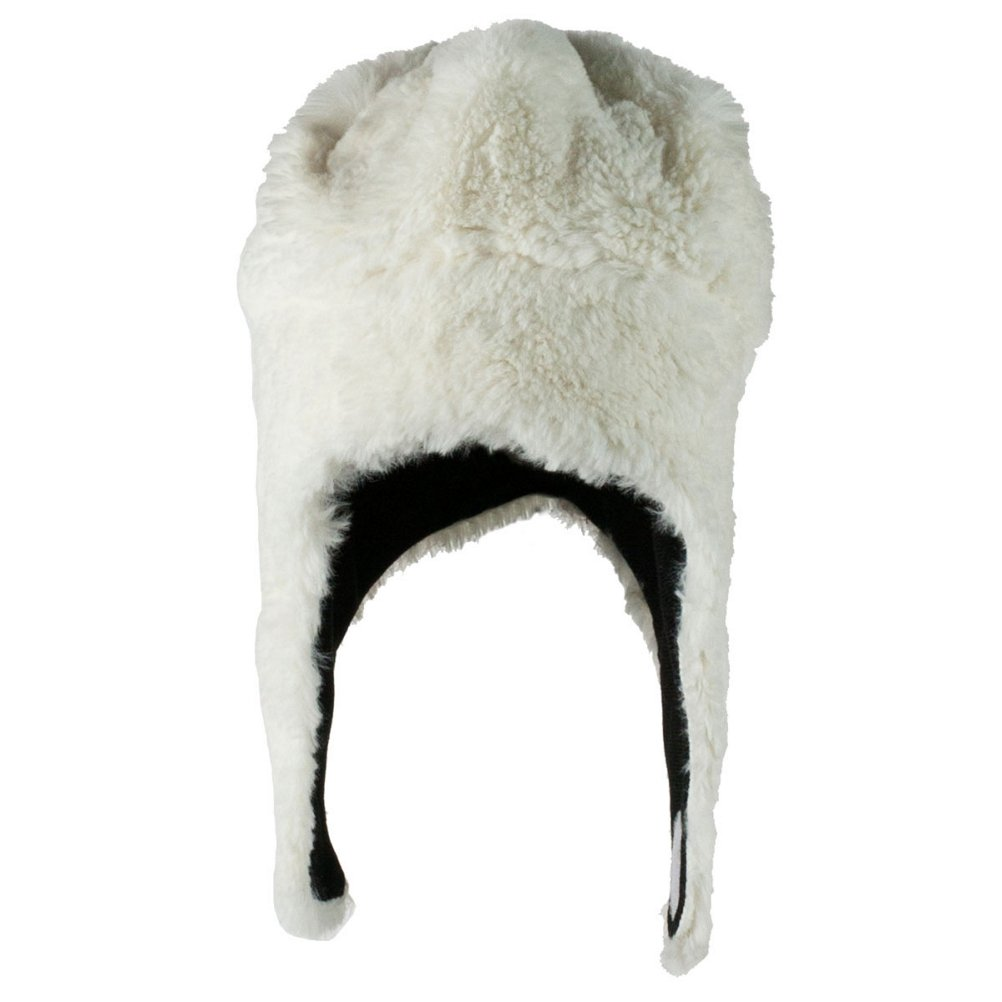 6b3e9a2289d Obermeyer Kids Girls Orbit Fur Hat White 1-4  Amazon.co.uk  Clothing