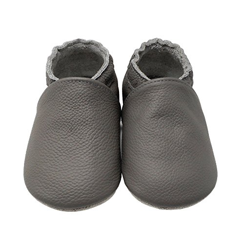fd46f929e1b Yalion Baby Boys Girls Shoes Crawling Slipper Toddler Infant Soft Leather First  Walking Moccasins