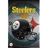 "Trends International Pittsburgh Steelers Helmet Wall Poster 22.375"" x 34"""