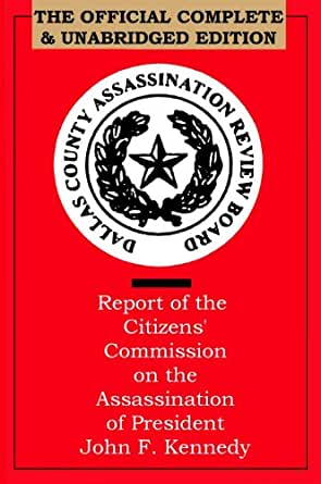 a report on the assassination of president john f kennedy The warren commission report: the official report on the assassination of president john f kennedy (pdf)  commission on the assassination of president kennedy, unofficially known as the.