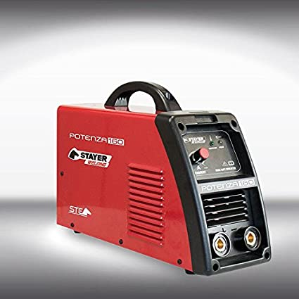 Stayer 501.635 - Equipo Soldadura Inverter Stayer Potenza 160 + Máscara ASX