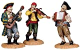 Lemax 82499 Pirate Shanty Tune Set of 3 Spooky Town Figure Village Halloween Decor O G Scale Retired