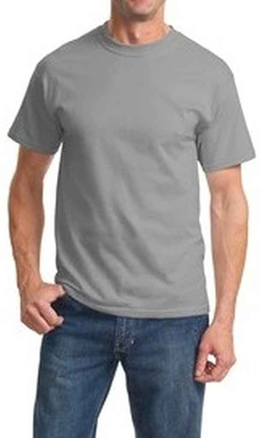 Port and Company PC61 Adult's Essential T-Shirt Medium Grey