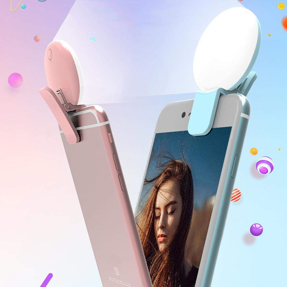Laptop FOONEE Selfie Light Ring Ricaricabile per Fotocamera a LED con 3 modalit/à dimmerabili per Youtube//Fotografia//Trucco//Live Video Compatibile con iPhone Tablet iPad