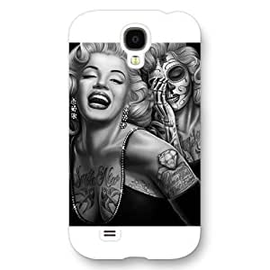 - Customized White Frosted For Case Samsung Note 3 Cover , Marilyn Monroe For Case Samsung Note 3 Cover