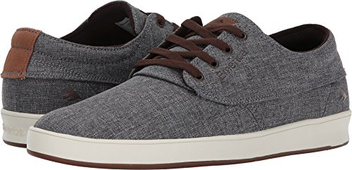 Emerica Men's Emery Skate Shoe,Grey/Brown,10.5 Medium (Lifestyle Skate Shoes)