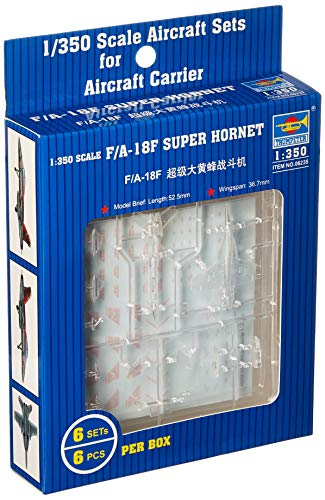 (Trumpeter 1/350 F/A18F Super Hornet Aircraft Set for USN Carriers (6-Box))